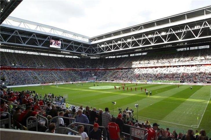 Арена в Дюссельдорфе, Reuters