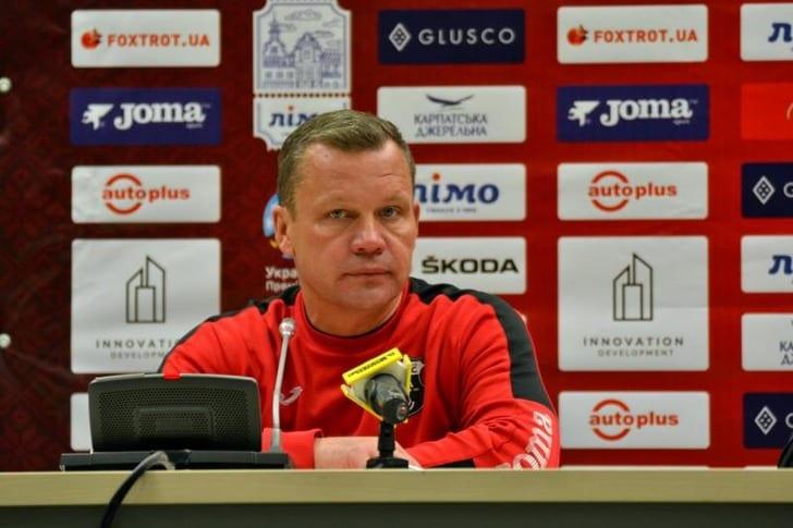 Главный тренер «Вереса» подал вотставку