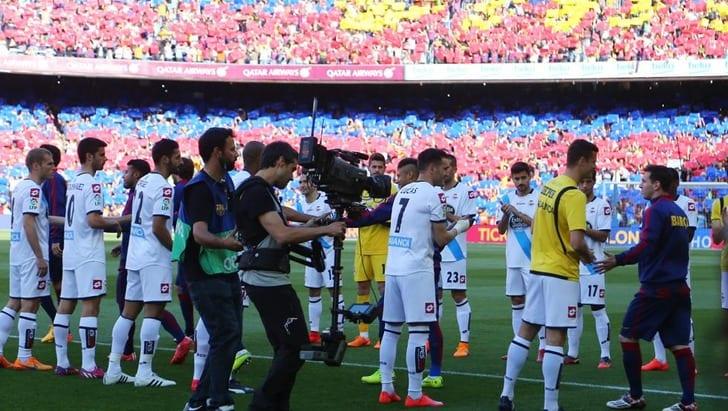 Хет-трик Месси обеспечил преждевременное  чемпионство «Барселоны»
