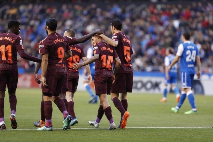 «Барселона» в25-й раз стала чемпионом Испании