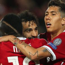Салах, Мане и Фирмино установили рекорд в Лиге чемпионов