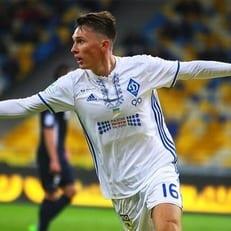 "Сидорчук сыграл за молодежную команду ""Динамо"""
