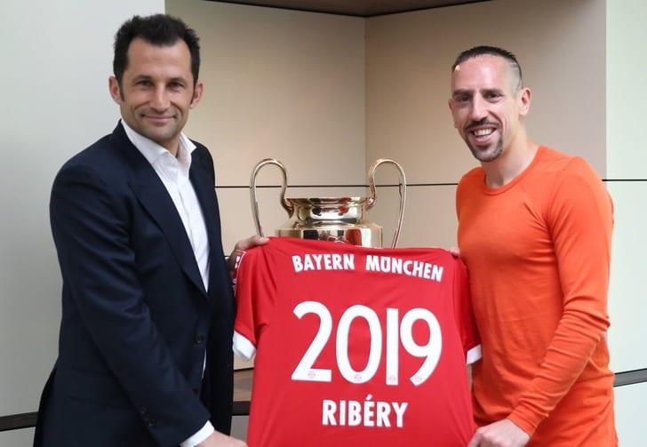 Рибери подписал новый договор с«Баварией»