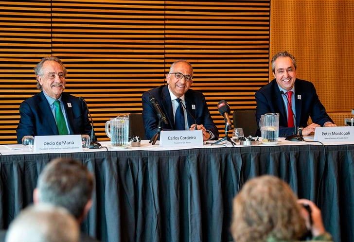 США, Мексика иКанада обещают ФИФА удвоить прибыльЧМ