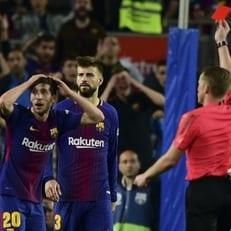 Серхи Роберто дисквалифицирован на 4 матча