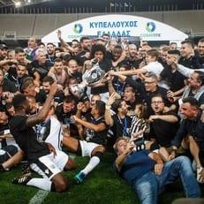 ПАОК Шахова стал победителем кубка Греции