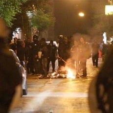 Болельщики устроили беспорядки перед финалом кубка Греции