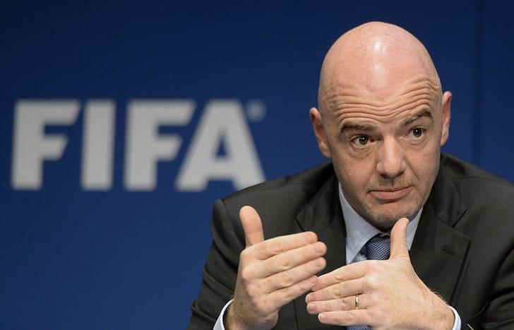 Съезд ФИФА обсудит вопрос увеличения количества команд наЧМ