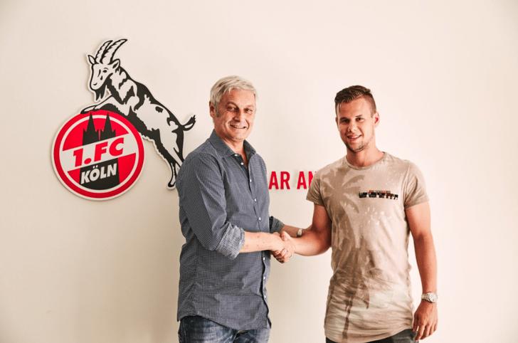 Луис Шауб (справа), 1. FC Köln