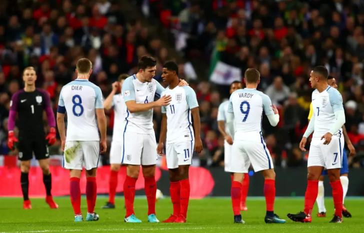 Британские  дети ярко представили состав сборной наЧМ