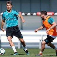 Роналду и Карвахаль вернулись к тренировкам