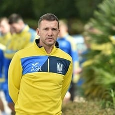 Андрей Шевченко вызвал 25 футболистов в сборную Украины