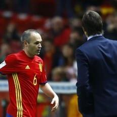Иньеста попал в заявку сборной Испании на чемпионат мира