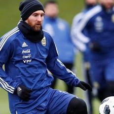 Лионель Месси прибыл в расположение сборной Аргентины