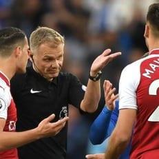 """FA оштрафовала """"Арсенал"""" за поведение игроков в матче с """"Лестером"""""""