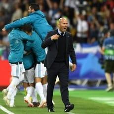 Зидан - первый тренер, выигравший три финала еврокубков кряду