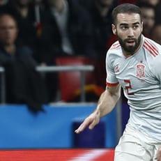 Карвахаль прибудет в расположение сборной Испании