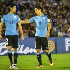 Луис Суарес, Эдинсон Кавани и Диего Годин присоединились к сборной Уругвая