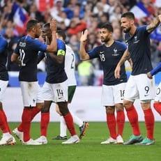 Оливье Жиру сравнялся с Зиданом по количеству голов за Францию