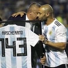 Маскерано превзошел Дзанетти по количеству матчей за сборную Аргентины