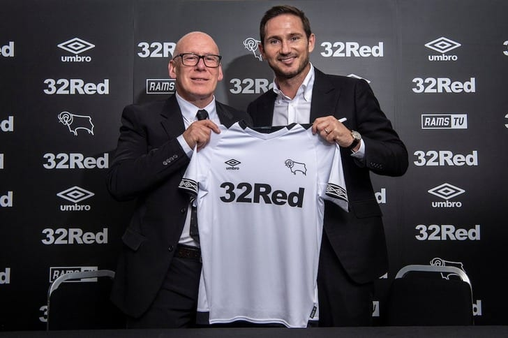 Фрэнк Лэмпард, twitter.com/dcfcofficial