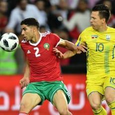 Матч Марокко - Украина завершился без голов