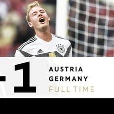 Австрия обыграла Германию