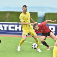 Украина уверенно обыграла Албанию