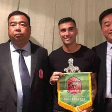Хосе Антонио Рейес стал футболистом аутсайдера второго китайского дивизиона