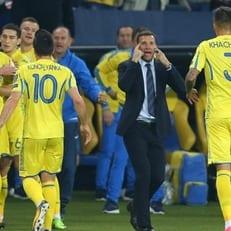 Сборная Украины потеряла 5 мест в рейтинге ФИФА