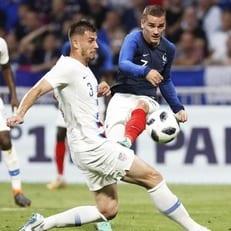 Франция не смогла победить США на своем поле