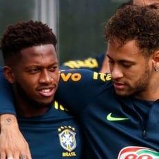 Фред пропустил пятничную тренировку сборной Бразилии