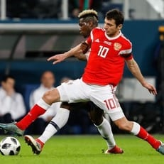Алан Дзагоев получил травму в матче против Саудовской Аравии
