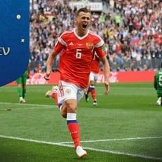 Черышев - первый футболист, забивший с выхода на замену в матче открытия ЧМ