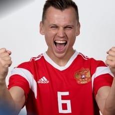 Денис Черышев - лучший игрок матча открытия ЧМ-2018