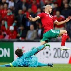 Нордин Амрабат получил сотрясение мозга в матче против Ирана