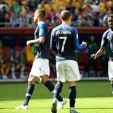 Гризманн признан лучшим игроком матча Франция – Австралия