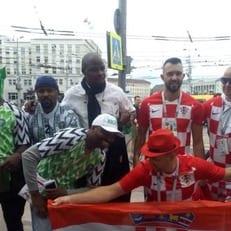 Стартовые составы на матч Хорватия - Нигерия