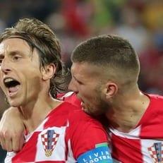 Лука Модрич признан лучшим игроком матча Хорватия - Нигерия