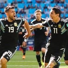 99,6% телезрителей в Исландии смотрели матч против Аргентины