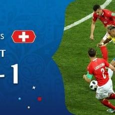 ЧМ-2018: Бразилия и Швейцария сыграли вничью