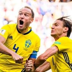 Гранквист стал лучшим игроком матча Швеция - Южная Корея
