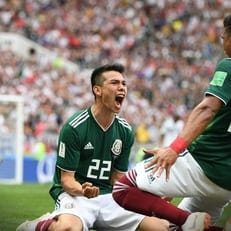 Ирвинг Лосано - лучший игрок матча Германия - Мексика