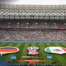 Матч Германия – Мексика посетили 78 тысяч болельщиков
