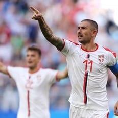 Коларов признан лучшим игроком матча Коста-Рика – Сербия
