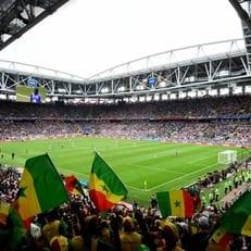 Матч Польша - Сенегал собрал 44 тысячи зрителей