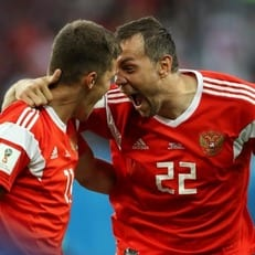 ЧМ-2018: Россия уверенно обыграла Египет
