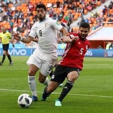 Луис Суарес провел 100-й матч за сборную Уругвая