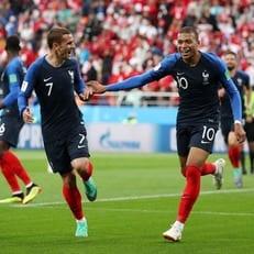 ЧМ-2018: Франция минимально обыграла Перу