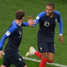 Килиан Мбаппе признан лучшим игроком матча Франция - Перу
